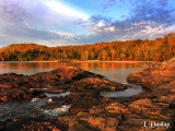 34 - Split Rock's Little Two Harbors, Golden Autumn Dawn