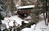 Amnicon Bridge During Thanksgiving Snow