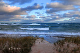 Stormy Morning, Lake Superior's South Shore