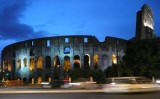 The Colosseum @ night.