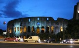 The Colosseum @ night..Rome, Italy