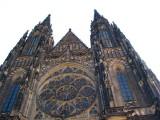 St Vitus Cathedral Prague. Czech Republic