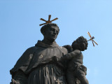 Statue on Charles Bridge, Prague.