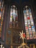 Inside St. Vitus Church, Prague