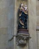 Inside St. Vitus Church, Prague.
