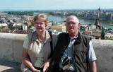 Valda and Ian in Budapest Hungary.
