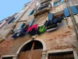 Washing day in Venice.