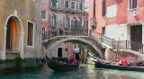 Taken from the Gondala I was in. Venice