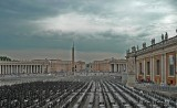 St. Peters Square, Vatican City. Italy