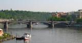 One of the bridges in Prague