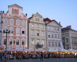 Early Evening in Prague Town Square 2