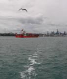 More goods coming into Auckland City.