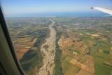 Arriving in the Canterbury region...near Christchurch.