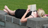 Relaxing in CHCH...maybe Danni ?