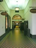 Corridor in Heritage Hotel.