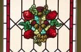 Stainglass window Heritage Hotel. Christchurch.