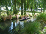 Punting on the Avon River, Christchurch.
