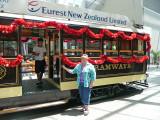 Christmas Tram, Christchurch.