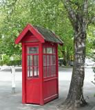 Old phone box, Christchurch.