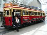 Tram, Christchurch.