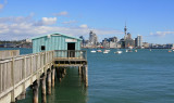 Stanley Point Wharf.. looking towards Auckland City.