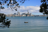 Auckland City from Stanley Point.