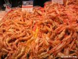 Quimper - garnalen op de markt