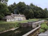 Sluis in het kanaal van Brest naar Nantes