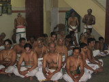 04-more gosti members join the gosti, after kalasandhi at Sri Parthasarathy Svami sannidhi.jpg