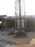 dwaja sthambam renovatin under progress.jpg