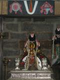 Swami Desikan in Simhasanam.JPG