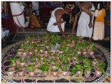 Preparation for sahasrakalAbishekam.JPG