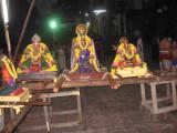EmperumAnar on the left to us -silever crown Sri Tirukachi nambi on the centre andSri ALavandhAr on the right.jpg