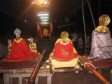 The Grand thodakkam of 6th ten - AzvAr s and AchAryAs in front of the Lord of Lords.jpg