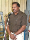 06-Sri Jeyaraman DC of Parthasarathy swamy temple Devasthanam - Speaking on the occasion.JPG