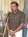 06-Sri Jeyaraman DC of Parthasarathy swamy temple Devasthanam - Speaking on the occasion.JPG