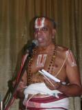 10-Dr MAV swamy introducing the glimpses of the Nitya grantham book.JPG