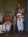 11-Dr MAV swamy introducing the glimpses of the Nitya grantham book2.JPG