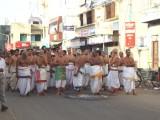 Sri Varadar utsavam -ThiruvallikEaNi