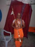 HH Tirupathi Siriya kElvi Appan Jeeyar Swami at thiru Nindravur.JPG
