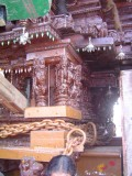 28-Parthasarathy Utsavam.Day 07.Ther.Intricate carvings on the side of the Ther.JPG