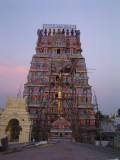 09-Sriperumbudur Samprokshanam 2008.Raja Gopuram and Dwajasthambam.jpg