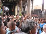 17-Parthasarathy Utsavam.Day 09.Mattai Adi Utsavam.Perumal & Ubaya Nacchimar playing with balls made of flowers.jpg