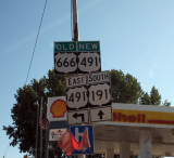 666 route has been removed by Mormon Utah!