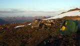 May 08 Tent on south Glen Shiel ridge, Scotland