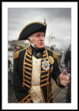 Vice-Admiral Lord Nelson discussing next battle tactics?