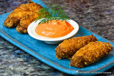 Thai Red Curry Wings and Red Curry Coconut Mayo