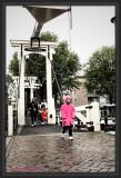 Rainy weather in Amsterdam