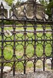 Late 19th Century Iron Fence
