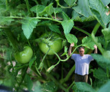 Just me in the garden